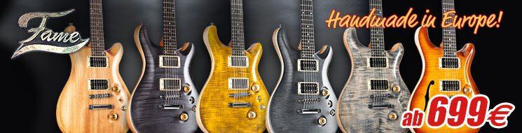 Musicstore Gitarren - FAME