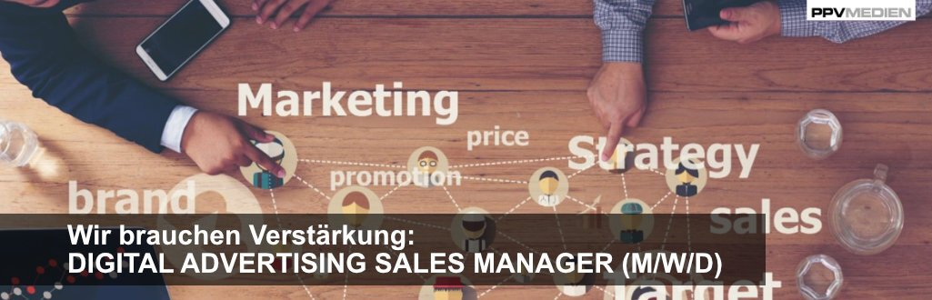 Job: Digital Advertising Sales Manager (m/w/d)
