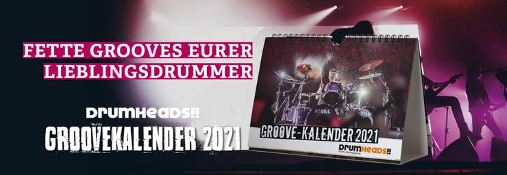 DrumHeads!! Groovekalender 2021